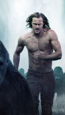 The Legend of Tarzan, Alexander Skarsgård, best movies 2016 (vertical)
