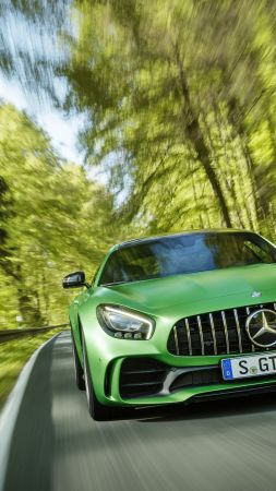 Mercedes-AMG GT R, green, Goodwood Festival of Speed 2016