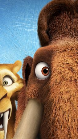 Ice Age 5: Collision Course, diego, manny, scrat, sid, mammoths, best animations of 2016