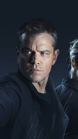 Jason Bourne, Bourne 5, Matt Damon, Alicia Vikander, best movies (vertical)