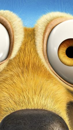 Ice Age 5: Collision Course, scrat, squirrel, best animations of 2016 (vertical)