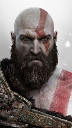 God of War, Kratos, Ps4 (vertical)