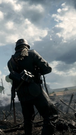 Battlefield 1, soldier, best games of 2016, shooter (vertical)