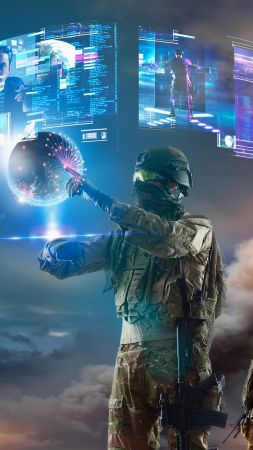 Soldier, virtual reality, vr, military (vertical)