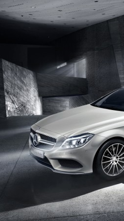 Mercedes-Benz, CLS Klasse, Shooting Brake, Final Edition, luxury cars, white (vertical)