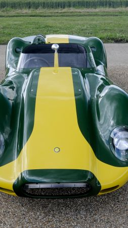 Lister Knobbly Stirling Moss Edition, sport car, supercar (vertical)