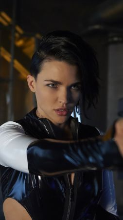 Resident Evil: The Final Chapter, Ruby Rose, guns, best movies (vertical)