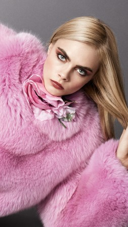 Cara Delevingne, Top Fashion Models, model, actress (vertical)
