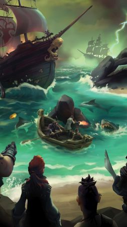 Sea of Thieves, Gamescom 2016, pirates, best games, pc, ps4, xbox one (vertical)