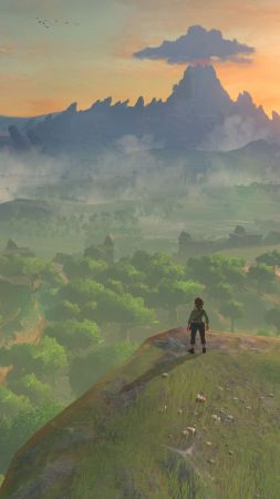 The Legend of Zelda: Breath of the Wild, best games, nature, Wii U, NX (vertical)