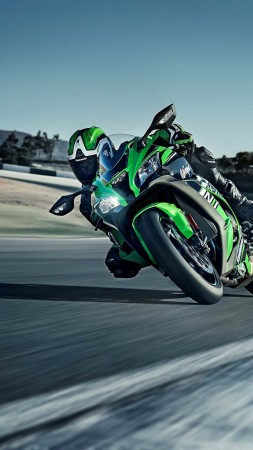 Kawasaki ZX-10R, Intermot 2016, WorldSBK, green, best bikes (vertical)