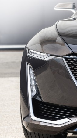 Cadillac Escala, black, sedan, luxury cars (vertical)