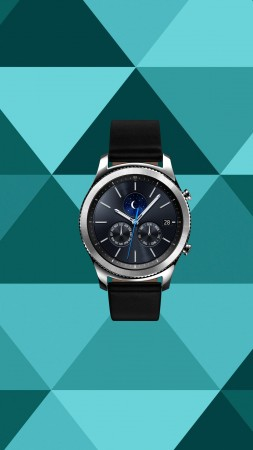 Samsung Gear S 3, smart watch, review, IFA 2016 (vertical)