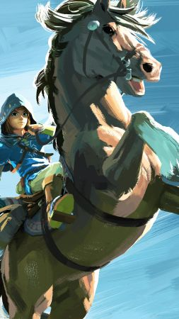 The Legend of Zelda: Breath of the Wild, best games, horse, Wii U, NX
