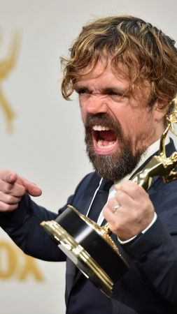 Peter Dinklage, Emmy 2016, Game of Thrones, Best TV Series, 6 season (vertical)