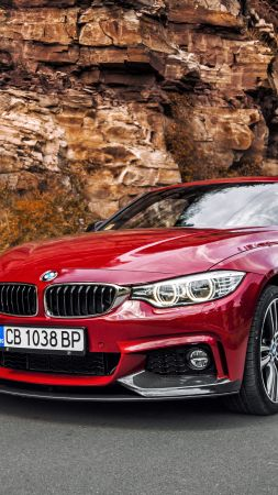Bmw 440i, red edition, coupe (vertical)