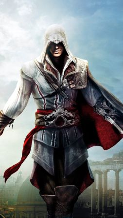 Assassin's Creed The Ezio Collection, PlayStation 3, PlayStation 4, Xbox 360, Xbox One, Microsoft Windows, OS X (vertical)