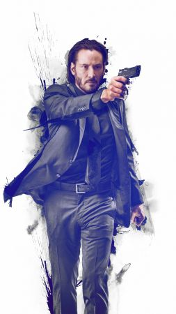 John Wick: Chapter Two, John Wick: Chapter 2, Keanu Reeves, Most popular celebs, best movies (vertical)
