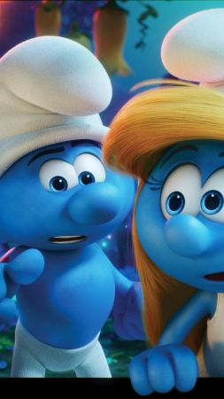 Get Smurfy, Best Animation Movies of 2017, blue