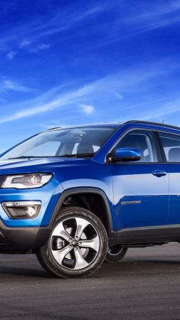 Jeep Compass longitude, suv, blue (vertical)