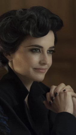 Eva Green, Eva Gaelle Green, Actress, model, red, dress, brunette, Penny Dreadful