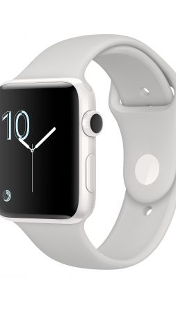 Apple Watch Series 2, smart watch, review, iWatch, wallpaper, Apple, display, silver, Real Futuristic Gadgets