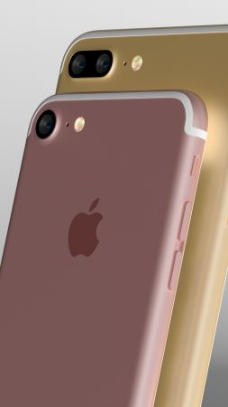 iPhone 7, review, Rose, iPhone 7 Plus, Gold, Best Smartphones 2016 (vertical)