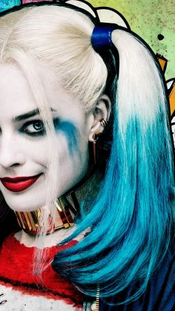 Harley quinn, Suicide Squad, Margot Robbie, Best Movies of 2016 (vertical)