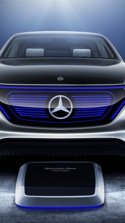 Mercedes Generation EQ, electric cars, paris auto show 2016, crossover (vertical)