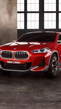 BMW X2, paris auto show 2016, crossover (vertical)