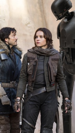 Rogue One: A Star Wars Story, Felicity Jones, Best Movies of 2016