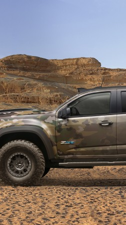 Chevrolet Colorado ZH2, Electric cars, U.S. Army, Vehicle