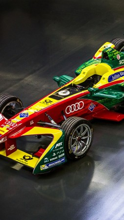 ABT Schaeffler FE02, formula E, racing, speed (vertical)