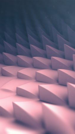 polygons, 3D, 4k, 5k, iphone wallpaper, android wallpaper, abstract, corners, low poly (vertical)