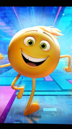 Emojimovie: Express Yourself, smiley, best animation movies (vertical)