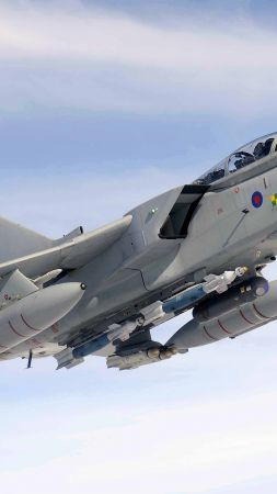 Panavia Tornado GR.4, fighter aircraft, British Air Force (vertical)
