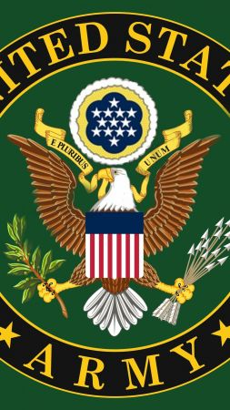 U.S. Army, logo, eagle (vertical)