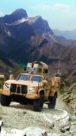 Lockheed Martin's JLTV, vehicle, U.S. Army (vertical)