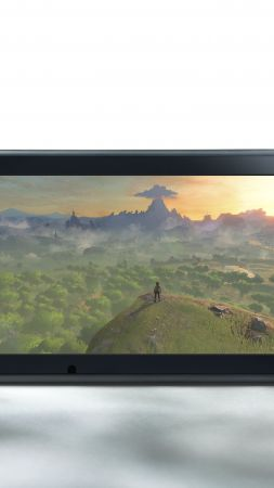 Nintendo Switch, review, Console (vertical)
