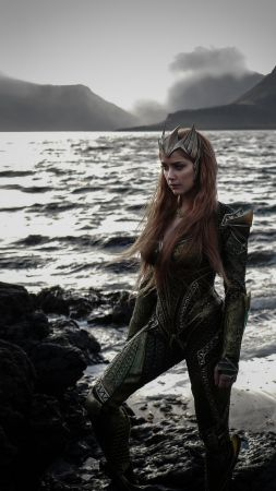 Justice League, amber heard, queen mera (vertical)