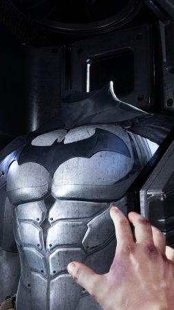 Batman: Arkham VR, suit, PS VR, PS4 (vertical)
