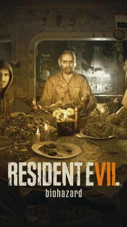 Resident Evil 7: Biohazard, VR, PS VR, PlayStation 4, Xbox One (vertical)