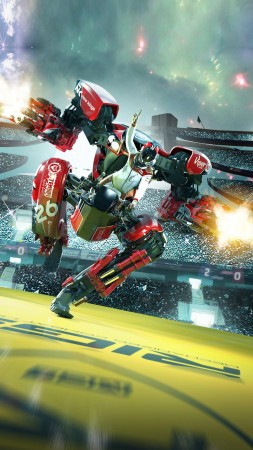 RIGS: Mechanized Combat League, VR, PS VR, PS4 (vertical)