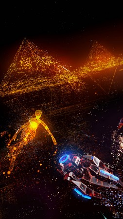 Rez Infinite: Area X, VR, PS VR, PS4 (vertical)