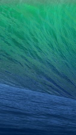 Apple, iOS 10, 4k, 5k, live wallpaper, iphone wallpaper, live photo, wave, macOS Sierra (vertical)