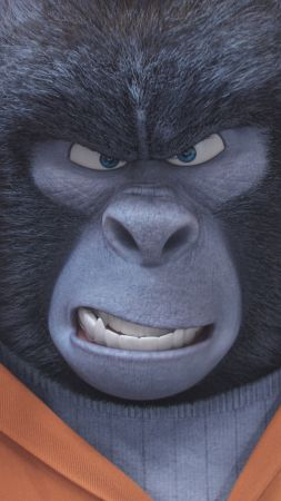 Sing, gorilla, best animation movies of 2016 (vertical)