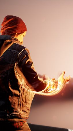 Infamous: Second Son, First Light, PS4 pro (vertical)