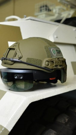 HoloLens, helmet, LimpidArmor, Armed Forces of Ukraine (vertical)