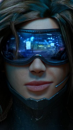 Cyberpunk 2077, cuberpunk, sci-fi, PC, PS 4, Xbox One (vertical)