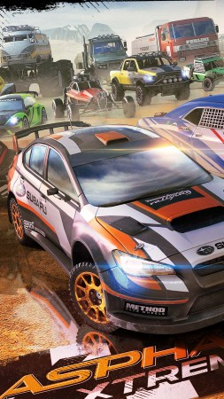 Asphalt Xtreme, racing, Android, iOS, PC (vertical)
